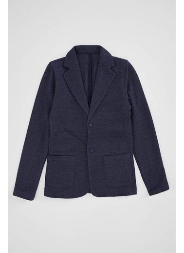 DeFacto Erkek Çocuk Regular Fit Blazer Ceket Lacivert